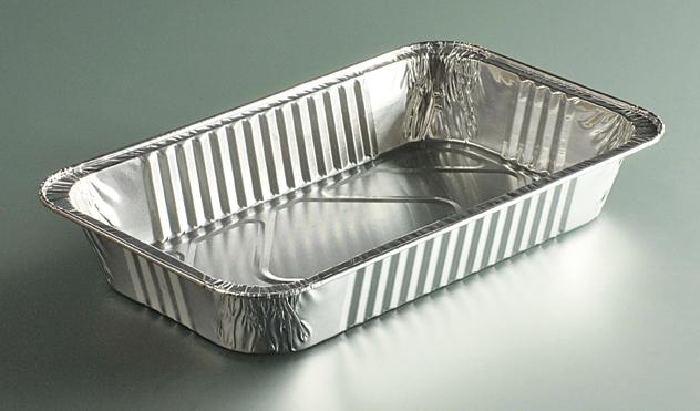 Plat gastronorme aluminium 1 4 1180 cc colis de 800 - Plat aluminium jetable ...