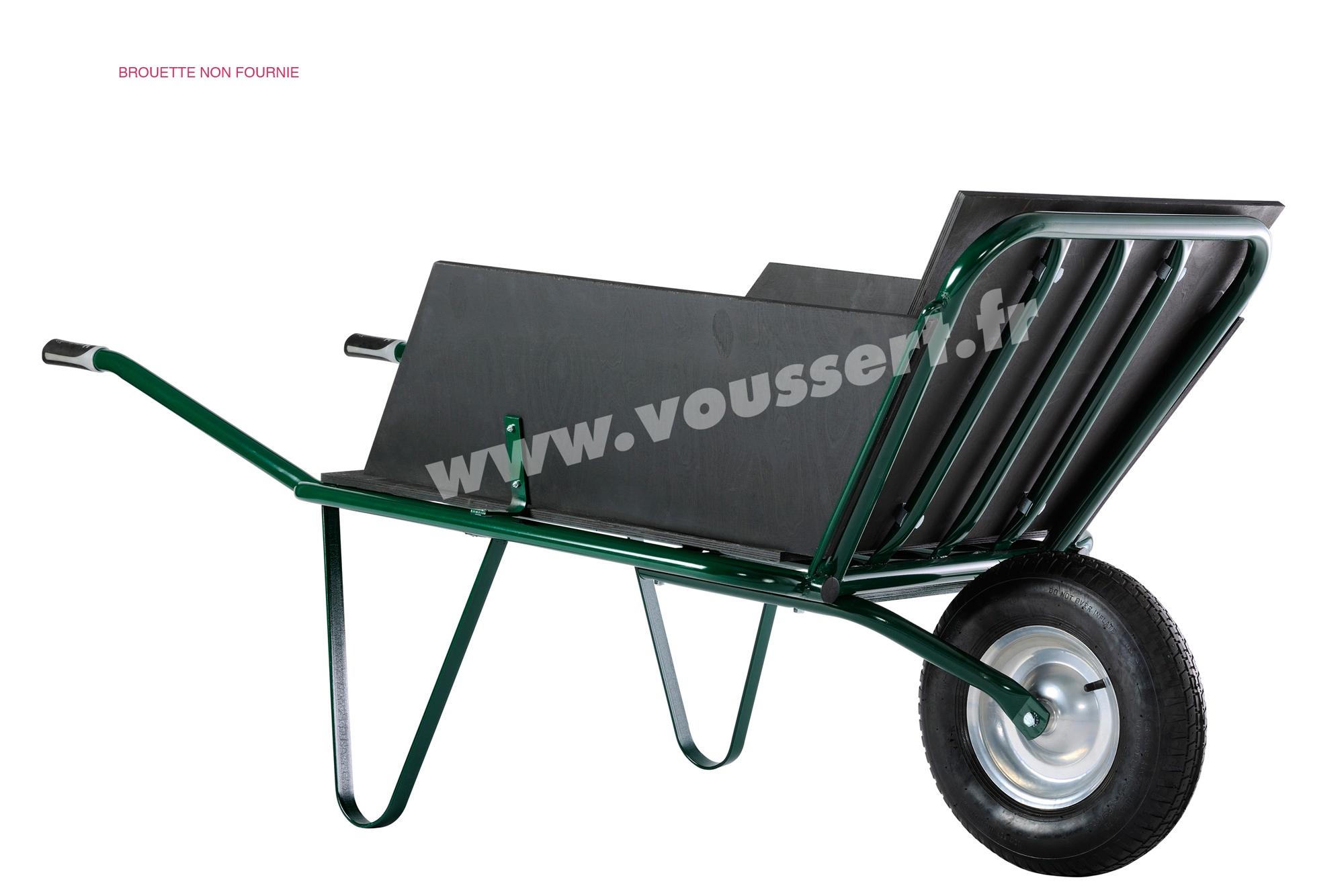 kit plateau ridelles pour agricola 1 ou 2 roues. Black Bedroom Furniture Sets. Home Design Ideas