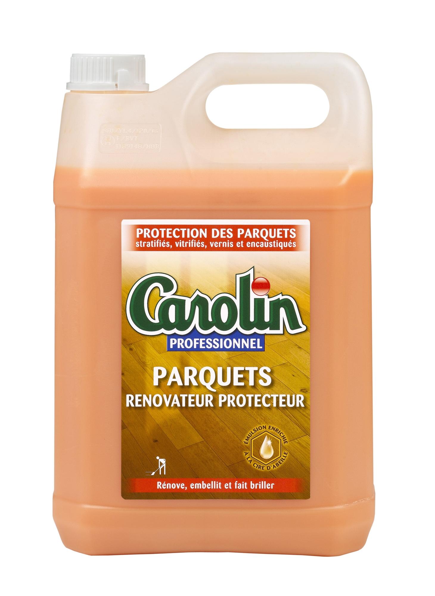 Carolin cire parquet professionnel - Cire pour parquet ...