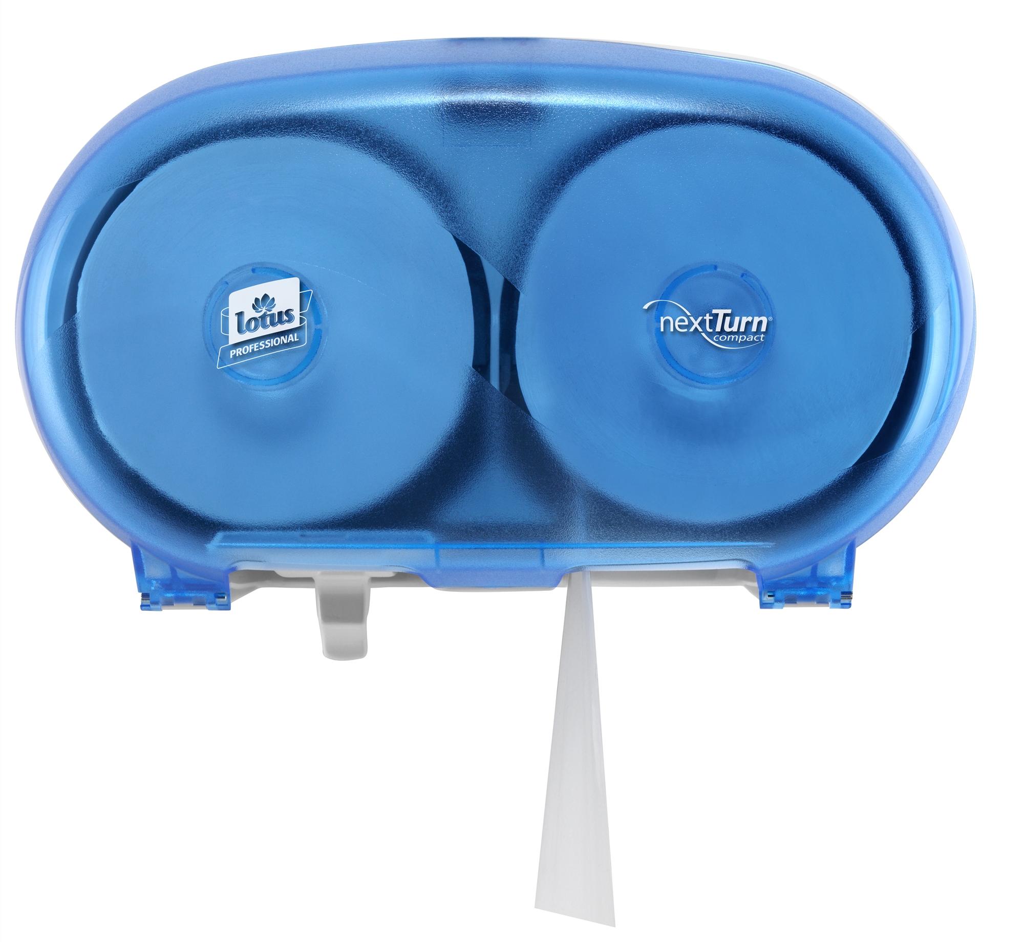 distributeur de papier toilette lotus compact nextturn. Black Bedroom Furniture Sets. Home Design Ideas