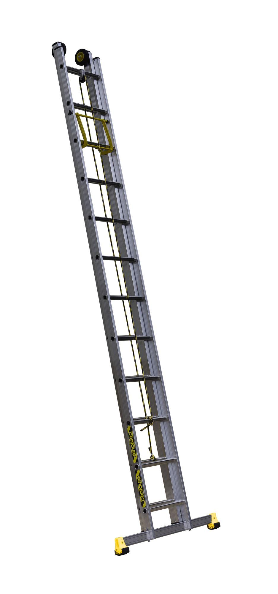 echelle coulissante centaure 2 plans corde 6m telescopique. Black Bedroom Furniture Sets. Home Design Ideas