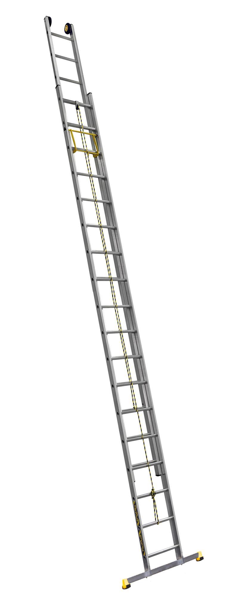 echelle coulissante centaure 2 plans corde 9 10m telescopique. Black Bedroom Furniture Sets. Home Design Ideas