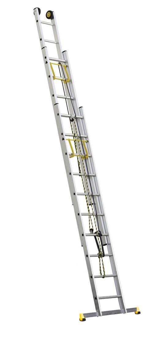 echelle coulissante centaure 3 plans corde 7m telescopique. Black Bedroom Furniture Sets. Home Design Ideas