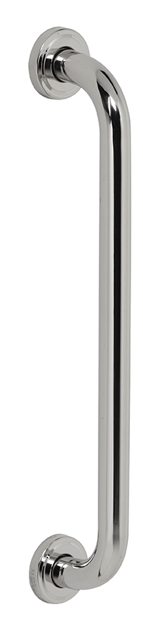 barre d 39 appui droit 40cm chrome rossignol biska. Black Bedroom Furniture Sets. Home Design Ideas