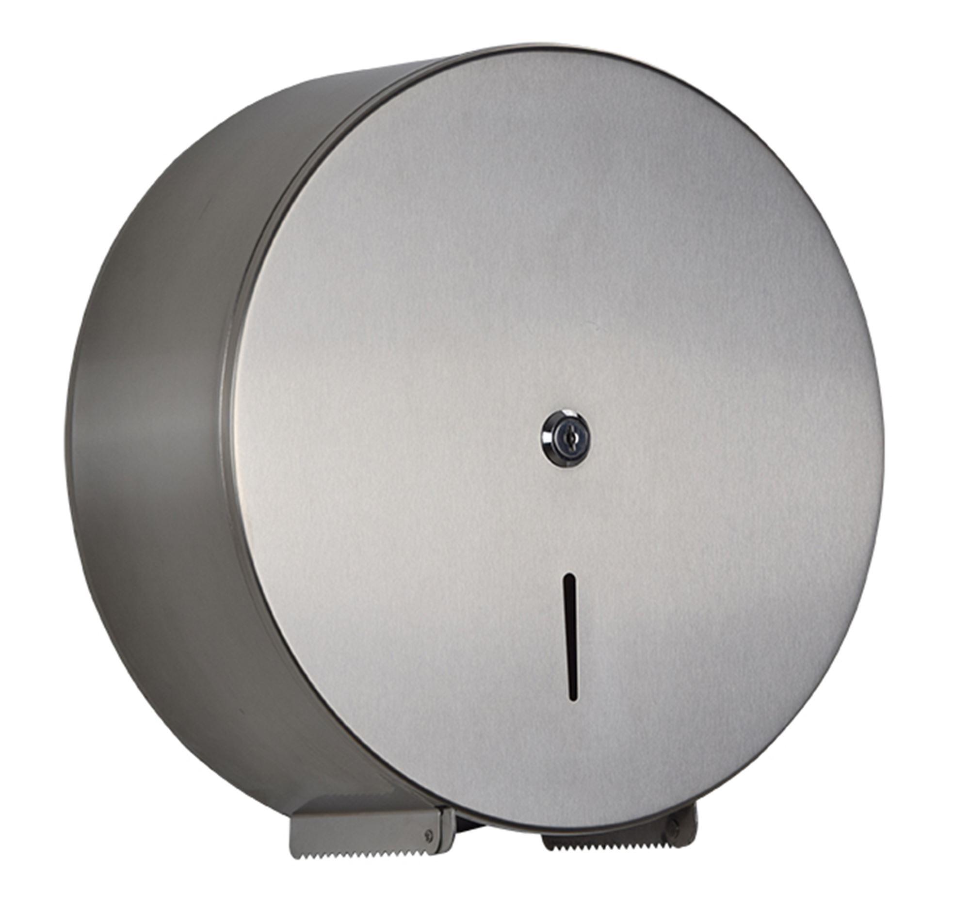 distributeur papier toilette rossignol 200m inox bross. Black Bedroom Furniture Sets. Home Design Ideas