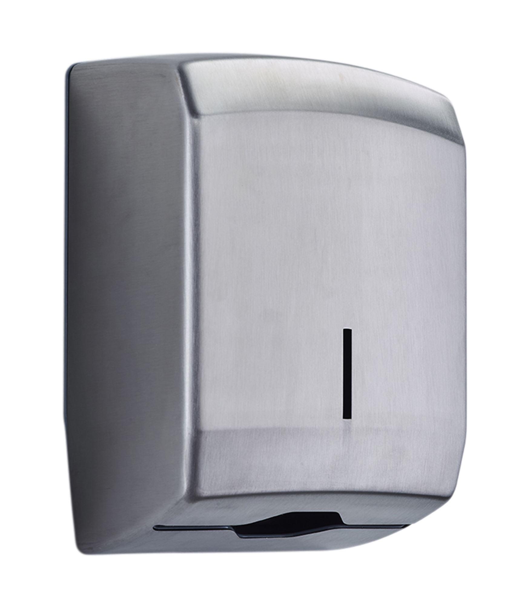 distributeur d 39 essuie mains inox bross. Black Bedroom Furniture Sets. Home Design Ideas