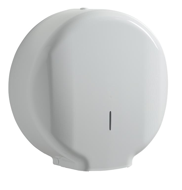 distributeur papier toilette jumbo rossignol blanc lensea. Black Bedroom Furniture Sets. Home Design Ideas
