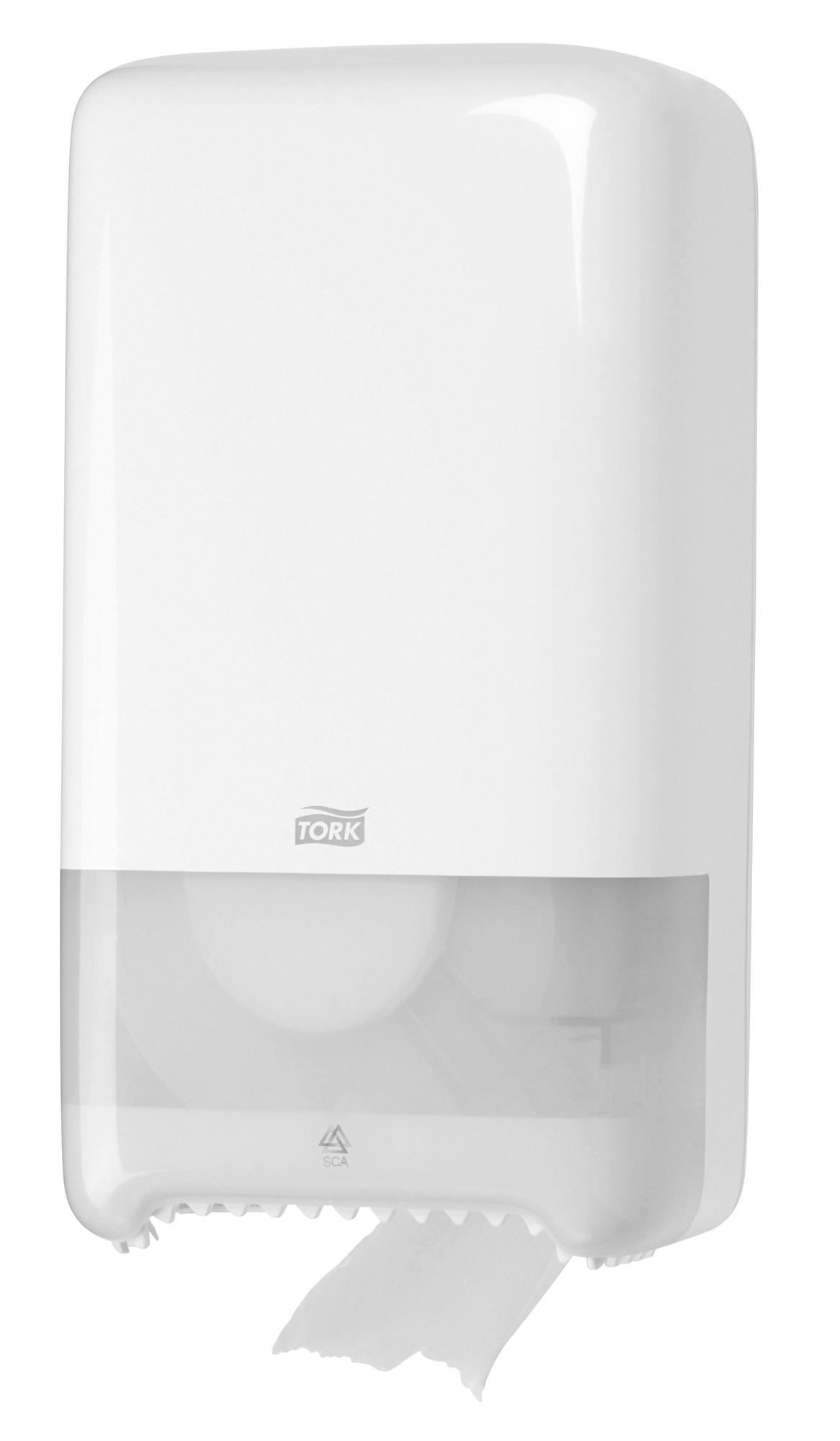 distributeur papier toilette tork elevation t6 blanc