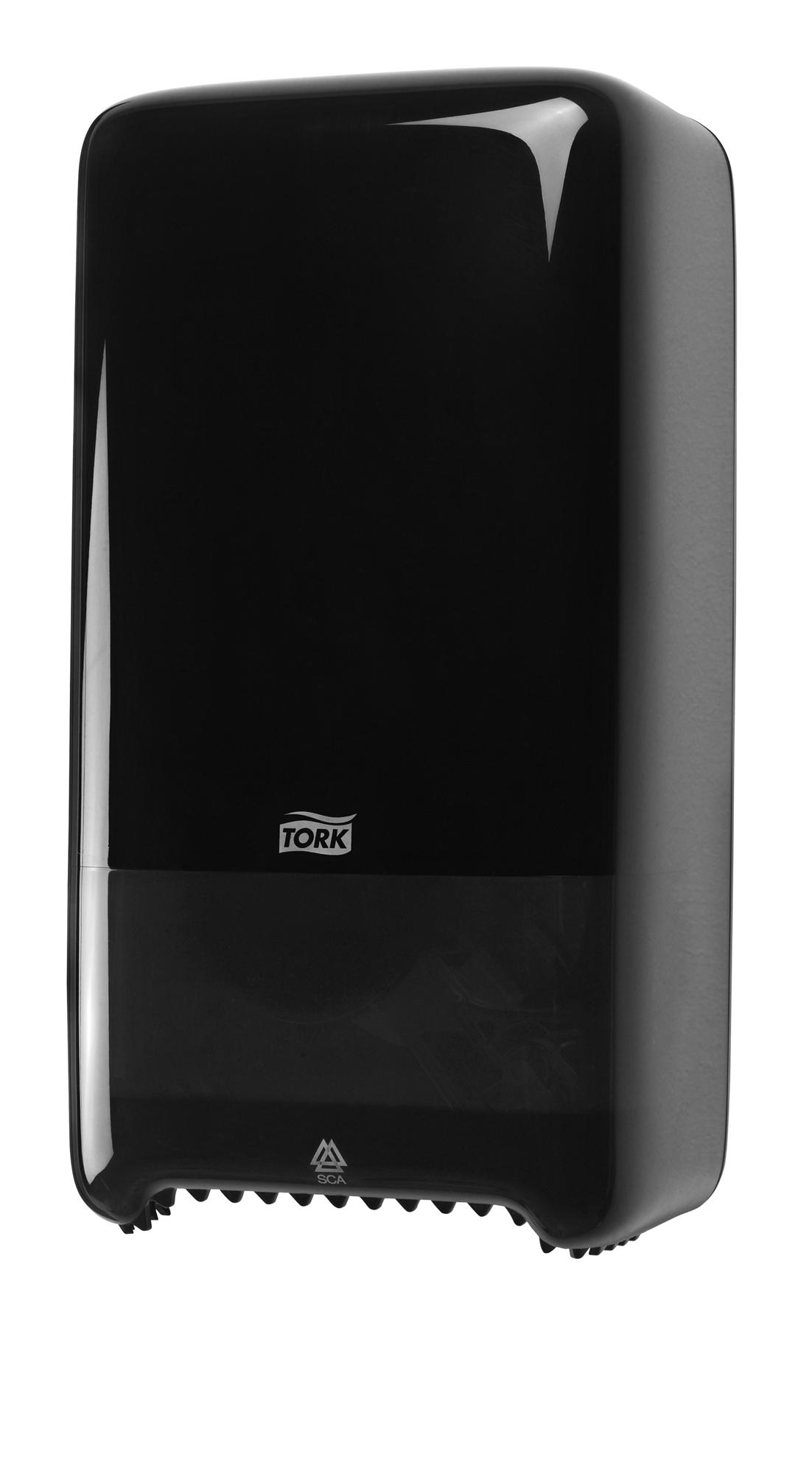 distributeur papier toilette tork elevation t6 noir. Black Bedroom Furniture Sets. Home Design Ideas