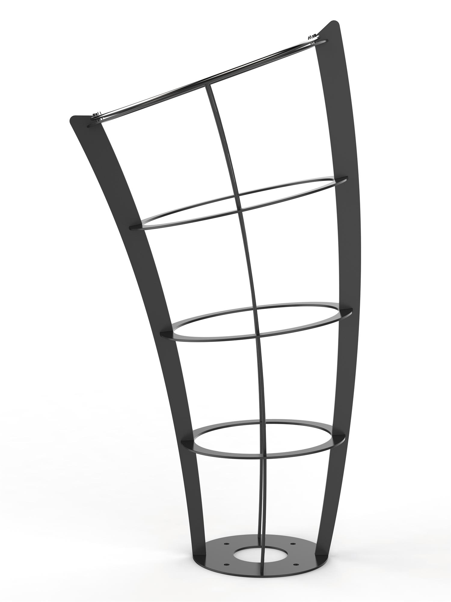 poubelle vigipirate de ville rossignol gris manganese. Black Bedroom Furniture Sets. Home Design Ideas
