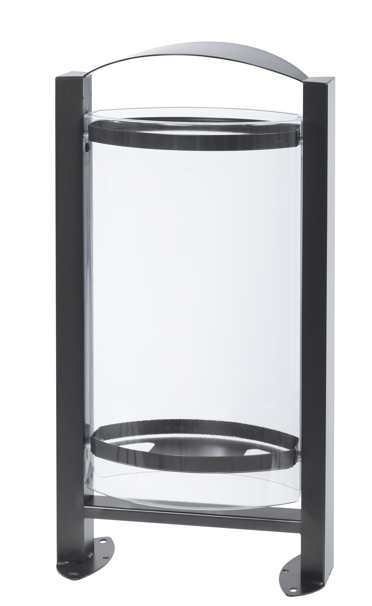 poubelle exterieure vigipirate rossignol 60l plastique. Black Bedroom Furniture Sets. Home Design Ideas
