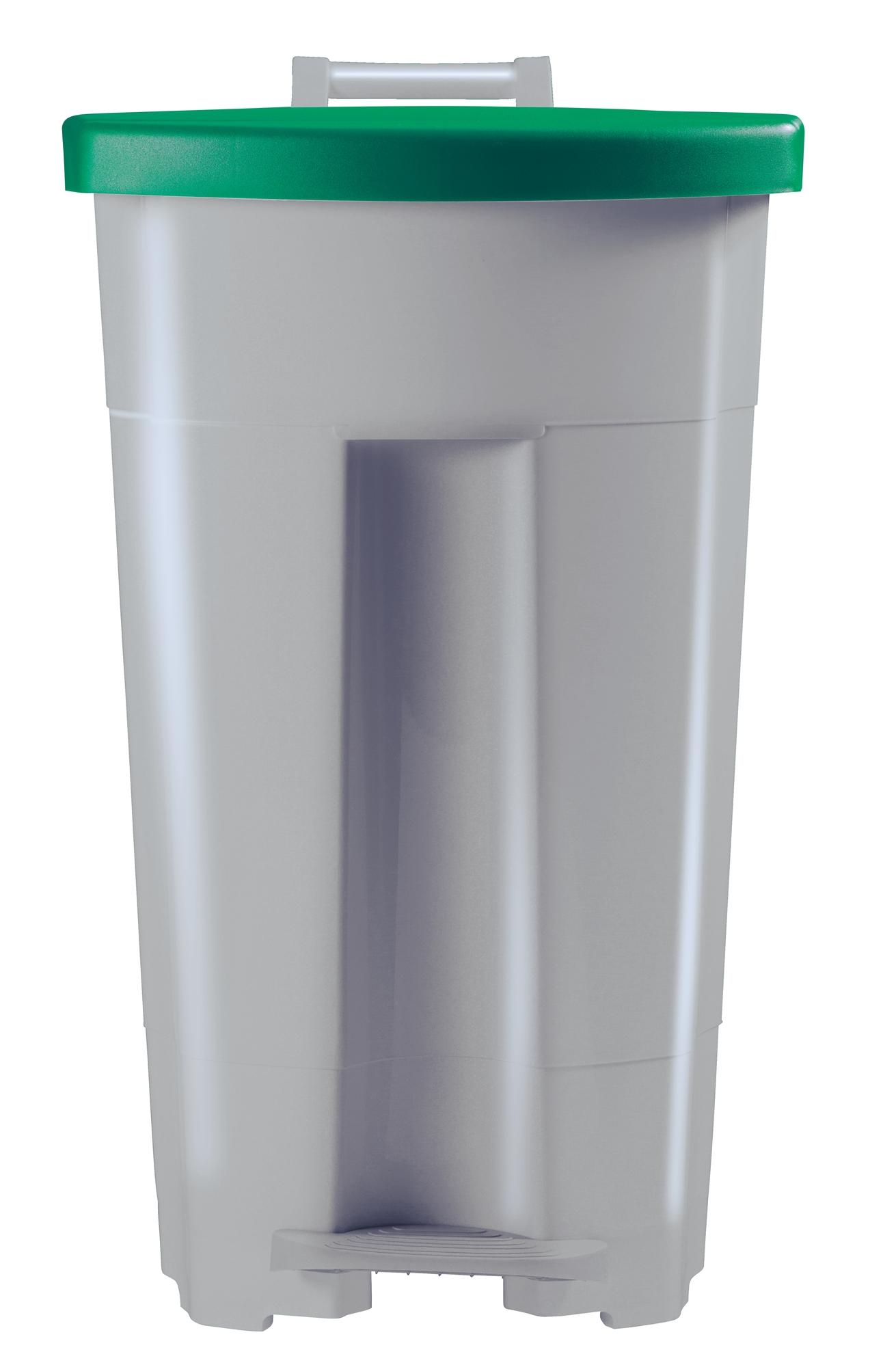 poubelle de cuisine rossignol 90 litres haccp couvercle vert. Black Bedroom Furniture Sets. Home Design Ideas