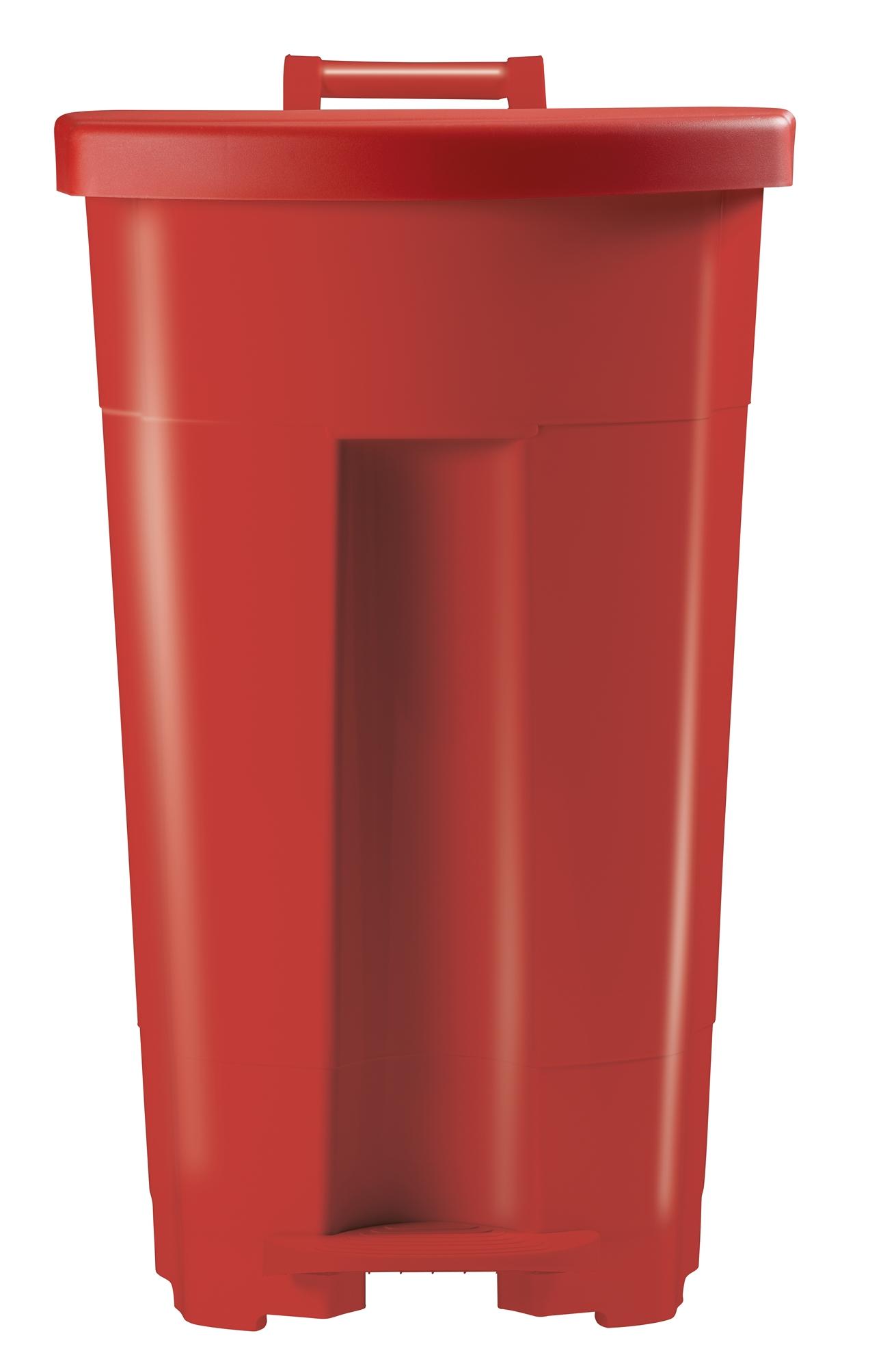 Poubelle tri s lectif cuisine rossignol 90 l rouge for Poubelle cuisine rossignol