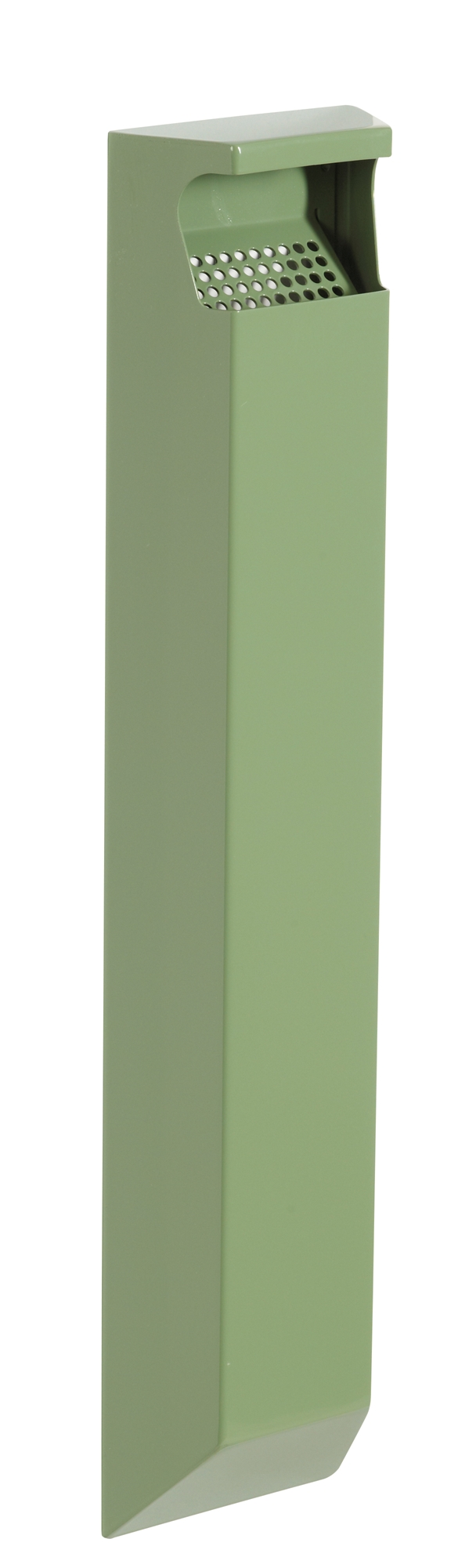 Cendrier exterieur rossignol mural 3l vert reseda for Cendrier mural rossignol