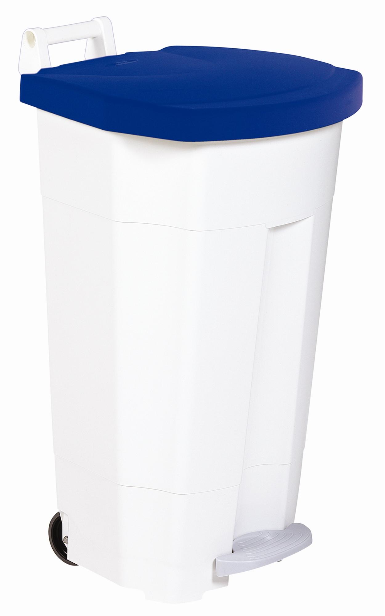 poubelle de cuisine rossignol haccp 90 litres bleu. Black Bedroom Furniture Sets. Home Design Ideas