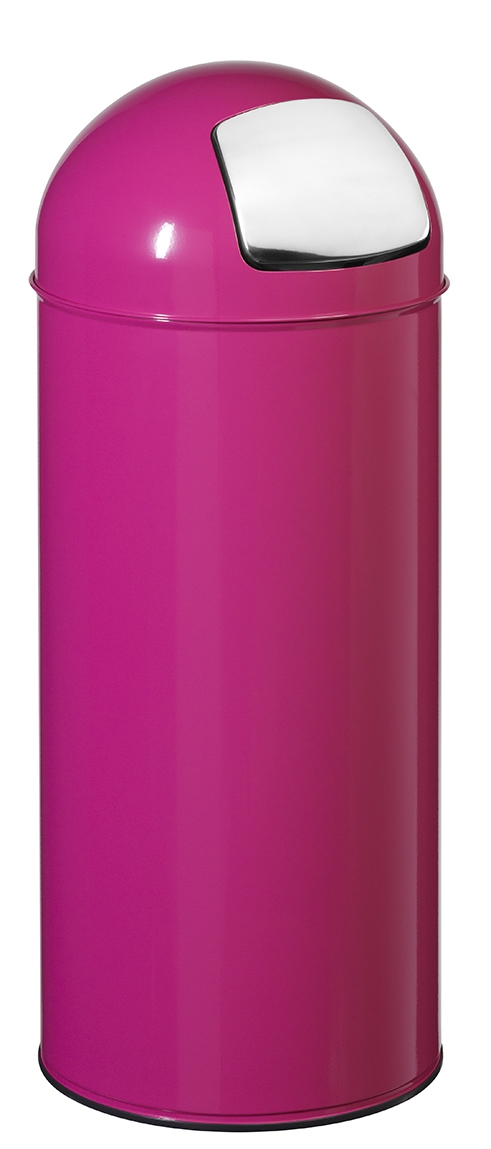 poubelle 45l rossignol rose avec trappe. Black Bedroom Furniture Sets. Home Design Ideas