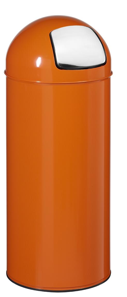 poubelle 45l rossignol orange avec trappe. Black Bedroom Furniture Sets. Home Design Ideas