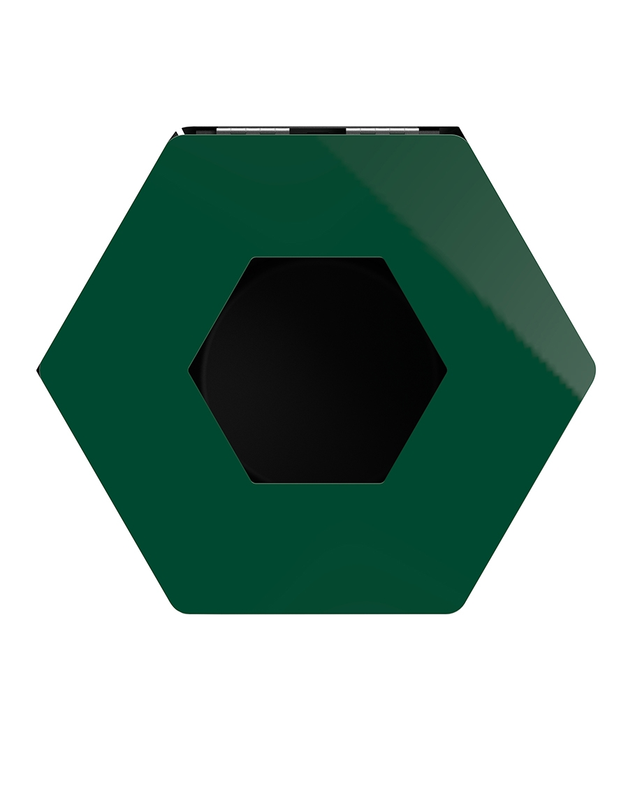 poubelle tri selectif rossignol 50 l vert mousse. Black Bedroom Furniture Sets. Home Design Ideas