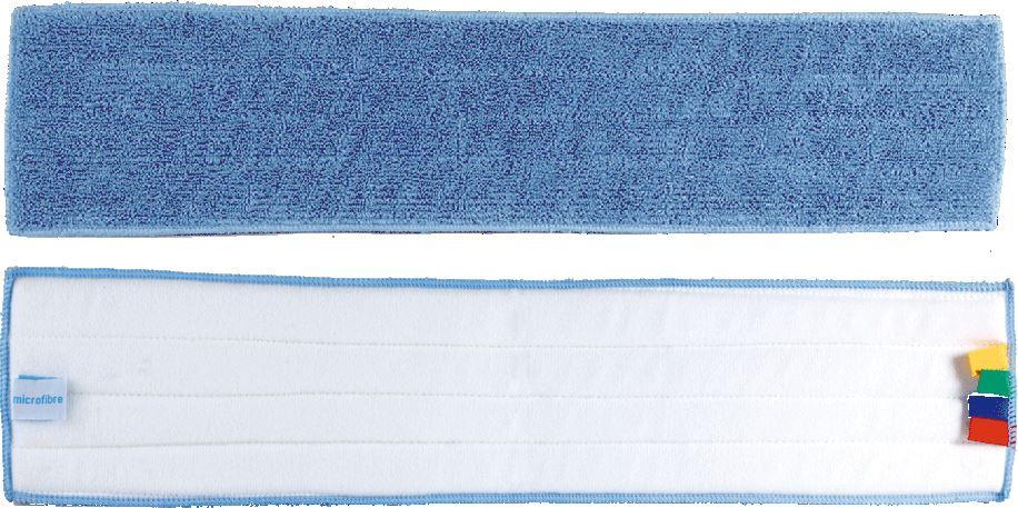 frange microfibre velcro lavage 60 cm bleue. Black Bedroom Furniture Sets. Home Design Ideas