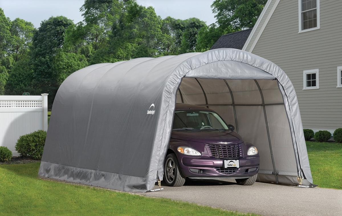 garage demontable shelter logic 3 7x6 1 m. Black Bedroom Furniture Sets. Home Design Ideas