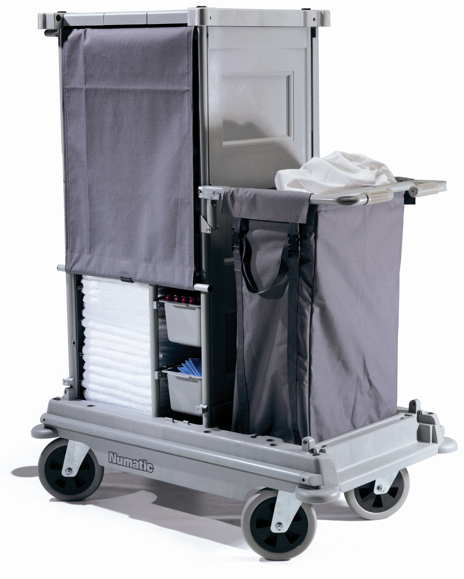 Chariot hotelier numatic nks 11 ff for Materiel hotelier professionnel