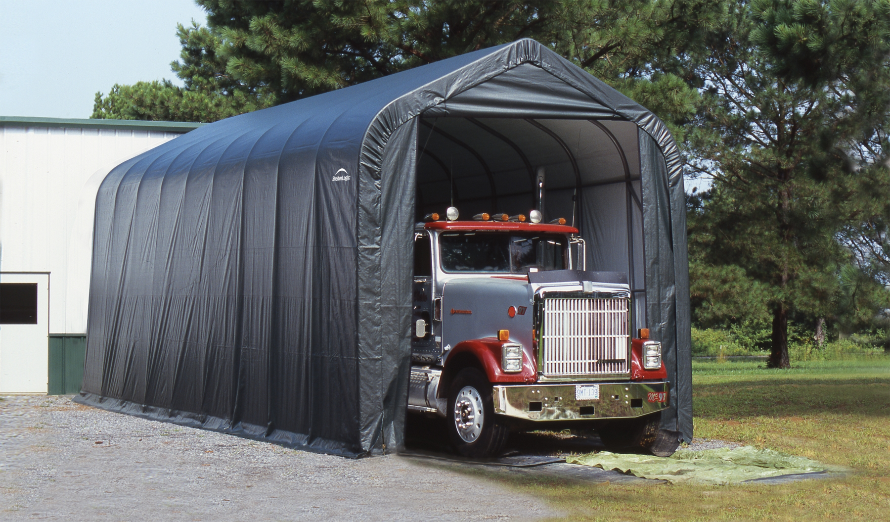 garage d montable camping car. Black Bedroom Furniture Sets. Home Design Ideas