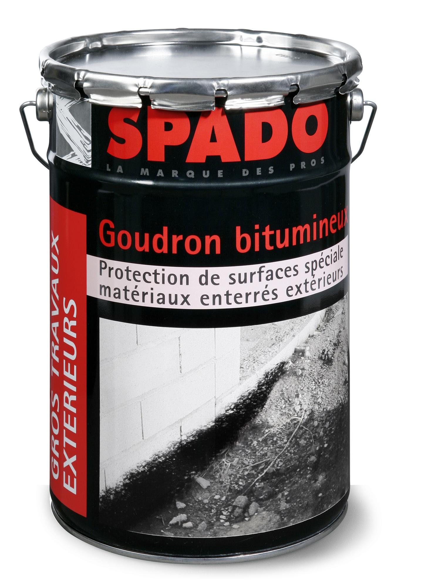 Goudron bitumeux Spado Bidon 1 l