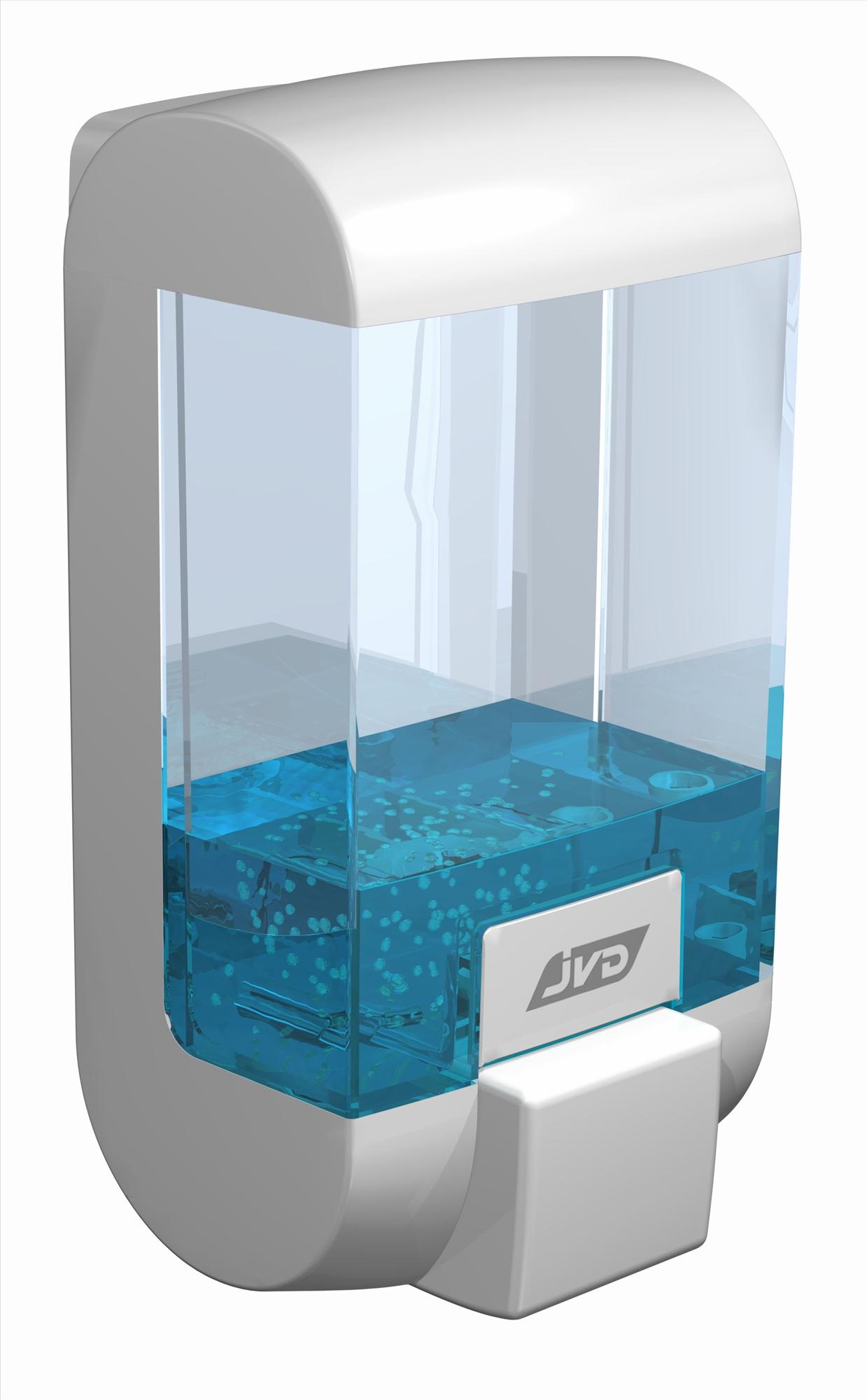 distributeur de savon liquide vrac rubis jvd blanc. Black Bedroom Furniture Sets. Home Design Ideas