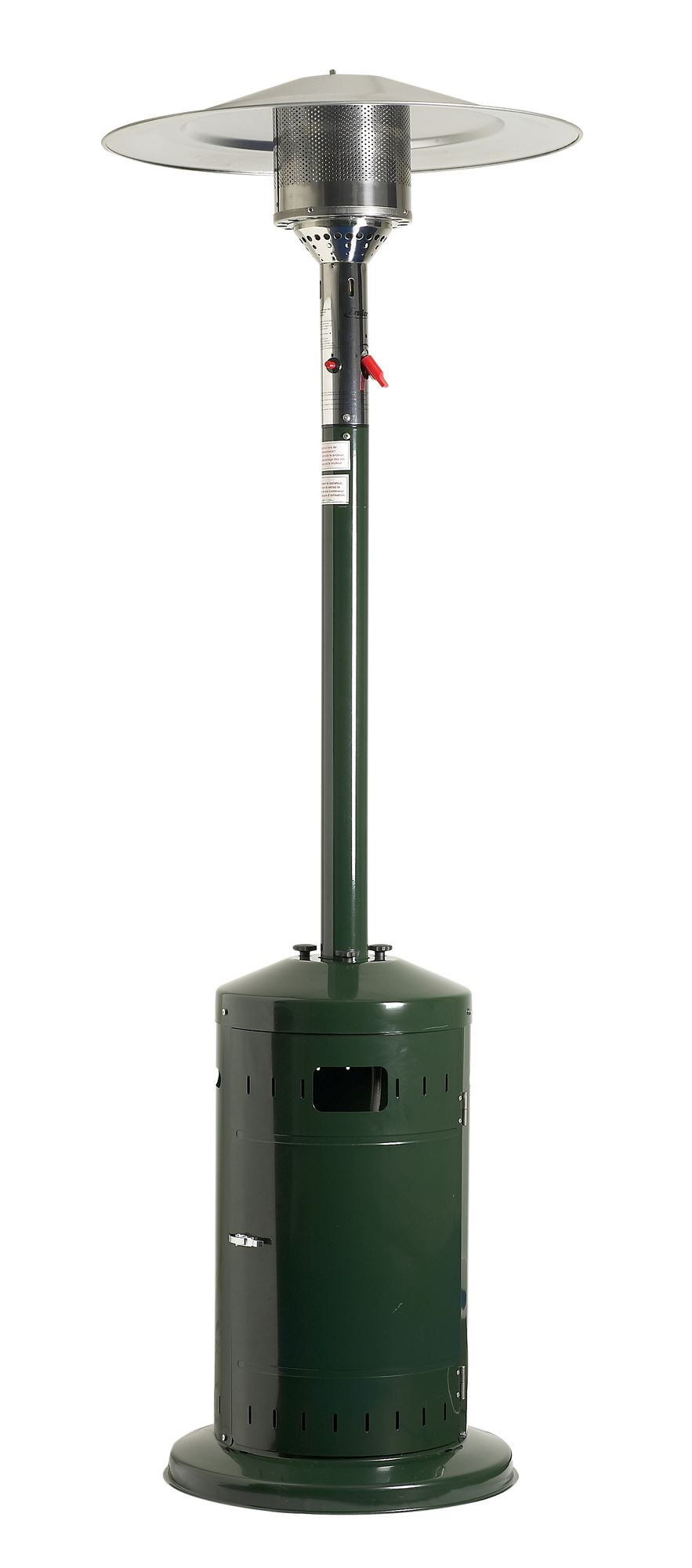 parasol chauffant cosy profi vert favex ecoline avec housse. Black Bedroom Furniture Sets. Home Design Ideas