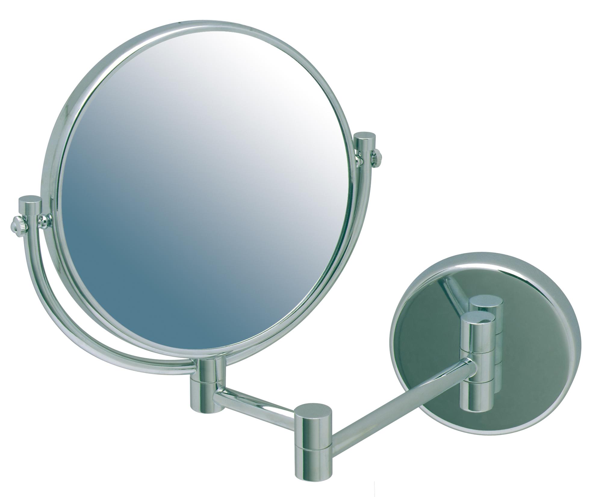 Miroir grossissant double face rond jvd - Miroir salle de bain chauffant ...