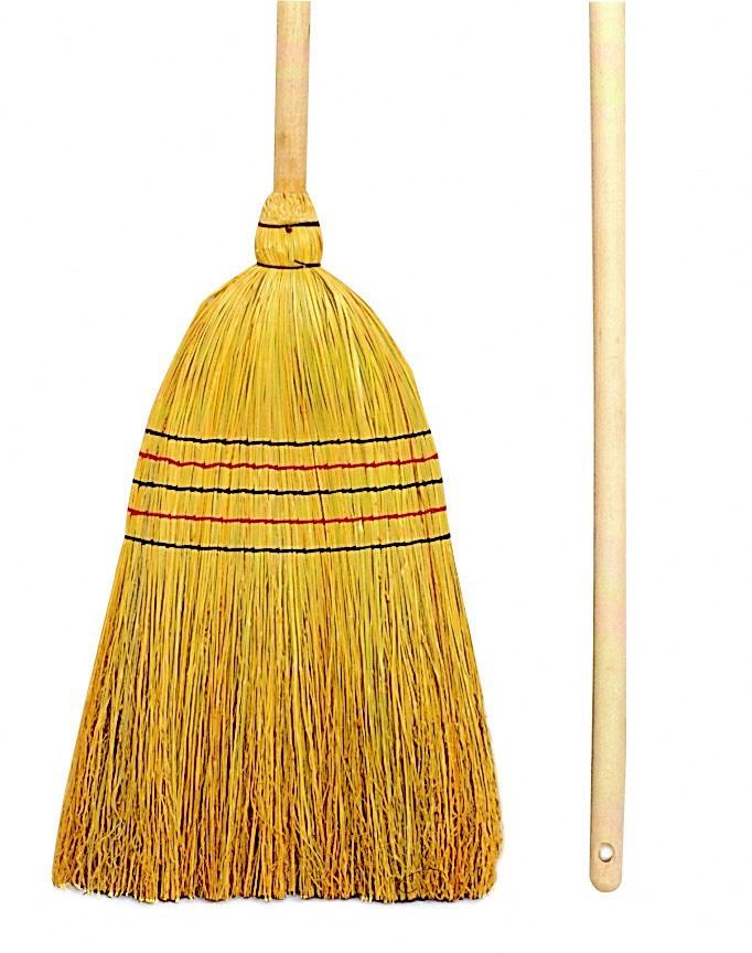 Balai paille de riz 5 fils - Balai nettoyage plafond ...