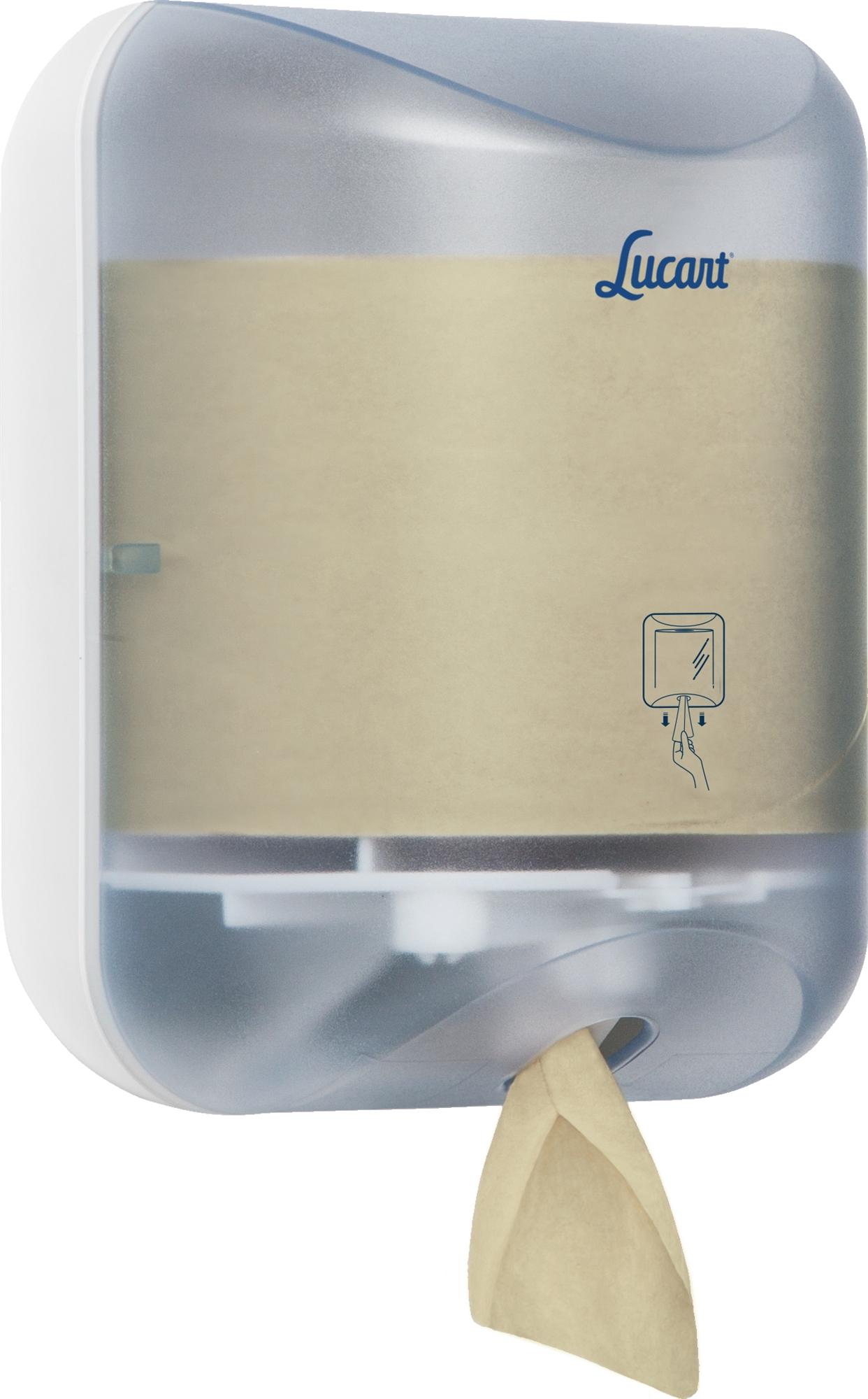 distributeur papier toilette feuille a feuille l one lucart. Black Bedroom Furniture Sets. Home Design Ideas