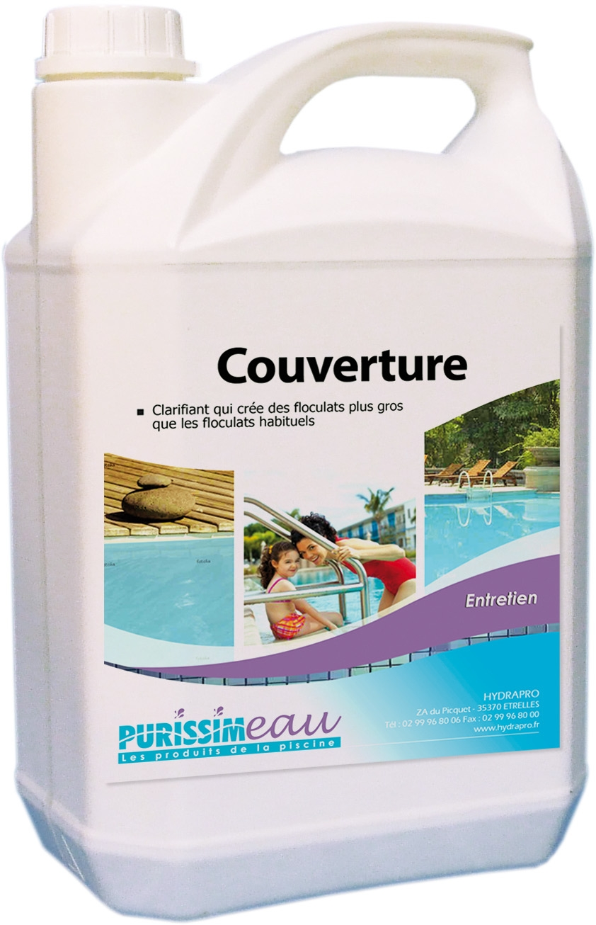 Nettoyant couverture produit piscine bidon 5 l for Produit piscine