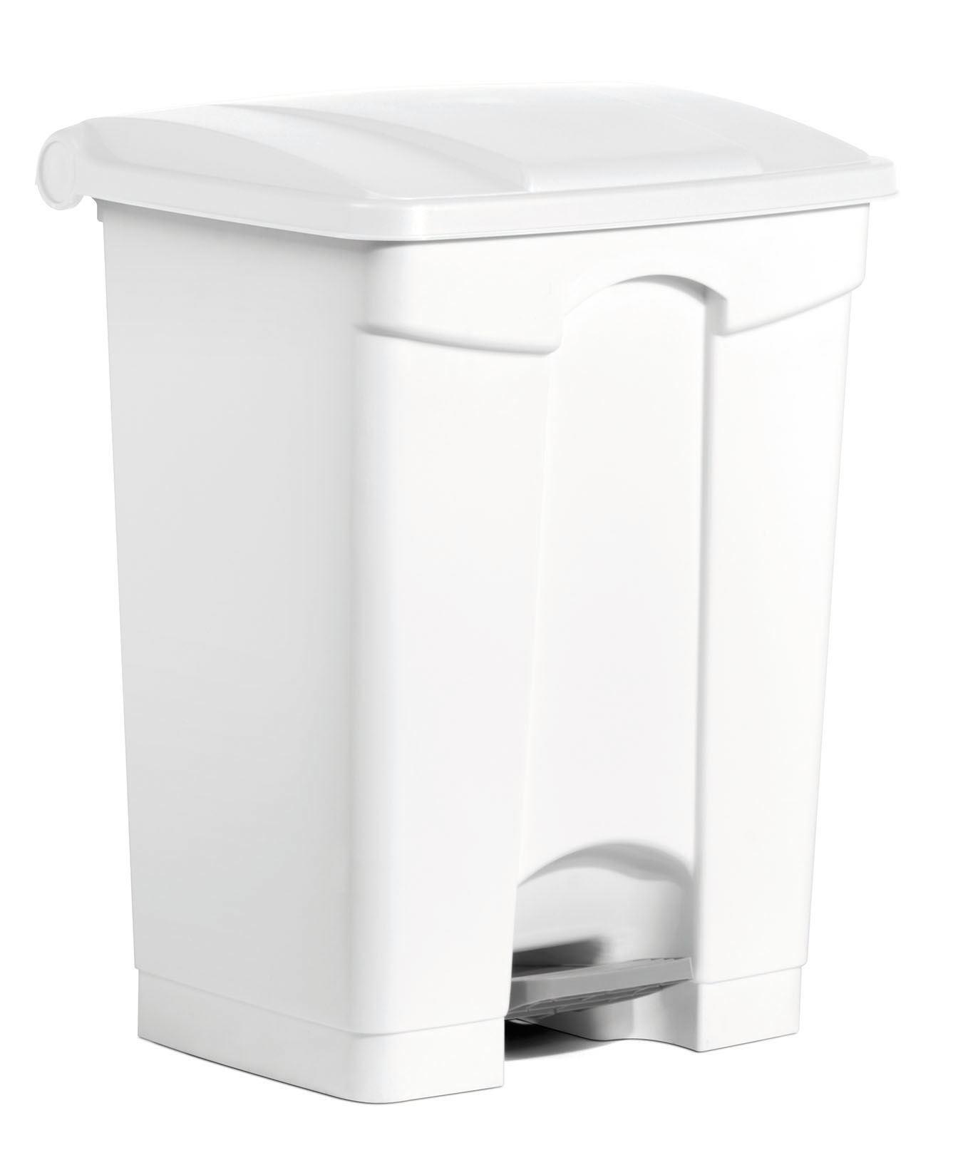 poubelle cuisine haccp 70 l a pedale blanche. Black Bedroom Furniture Sets. Home Design Ideas