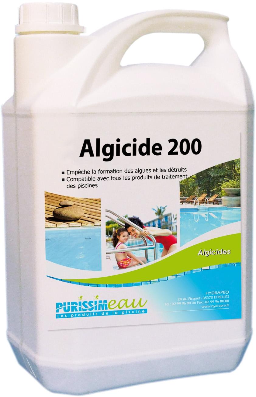 algicide piscine 200 curatif professionnel 5 l