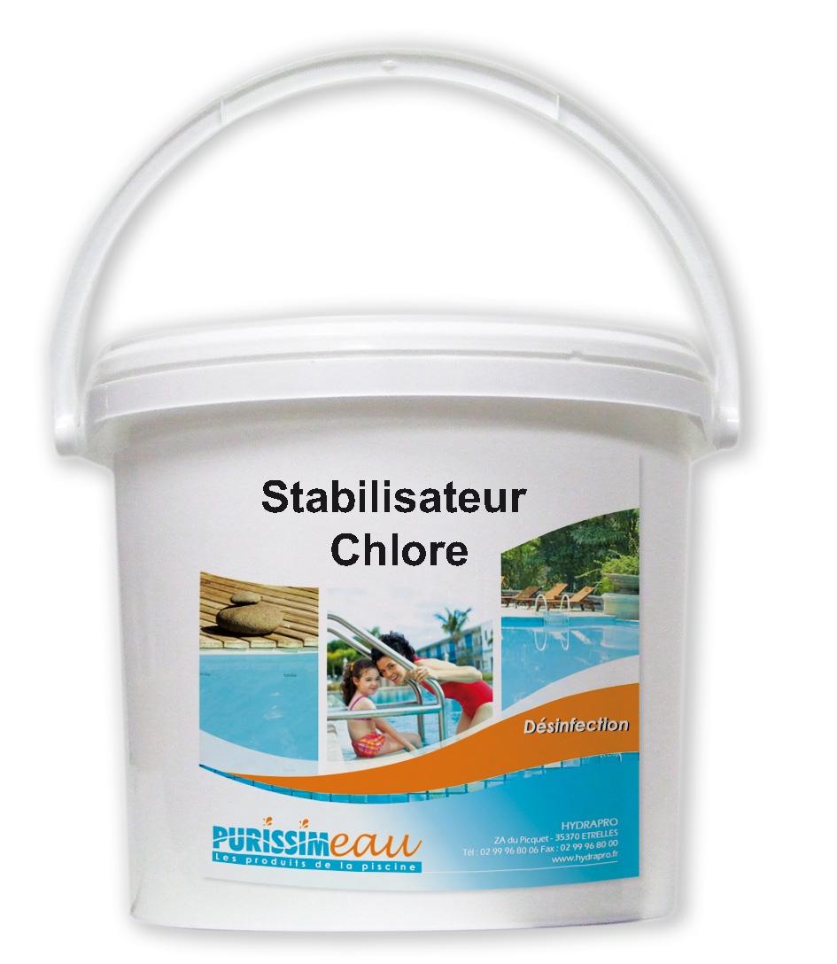 stabilisateur de chlore produit piscine seau de 5 kg. Black Bedroom Furniture Sets. Home Design Ideas