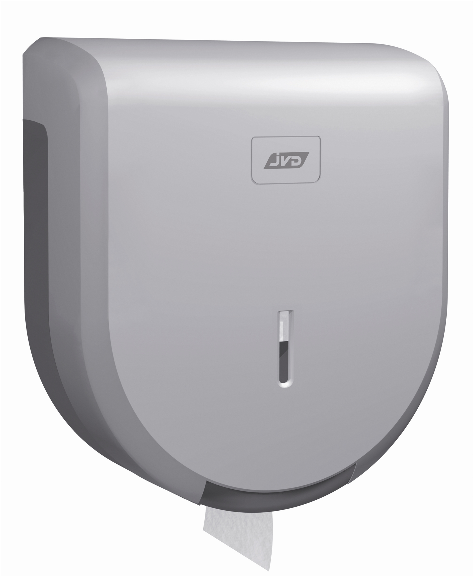 distributeur papier toilette jumbo gris m tal abs jvd. Black Bedroom Furniture Sets. Home Design Ideas