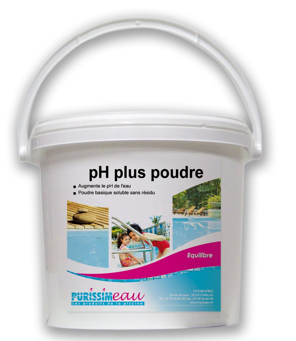 ph plus poudre produit piscine seau de 5 kg. Black Bedroom Furniture Sets. Home Design Ideas