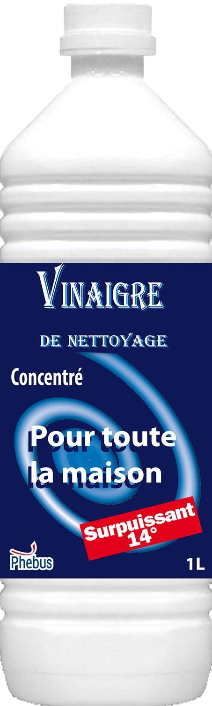 Vinaigre de nettoyage 14 degr s - Vinaigre blanc 14 degres ...