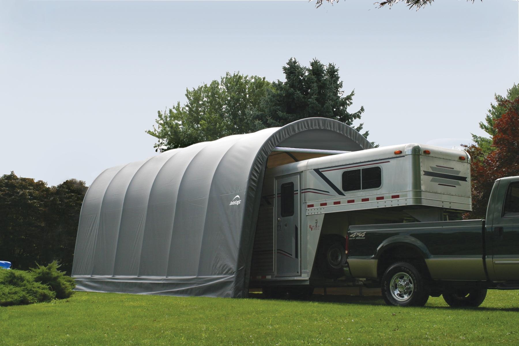 Garage d montable camping car caravane bateau for Garage auto lyon 7