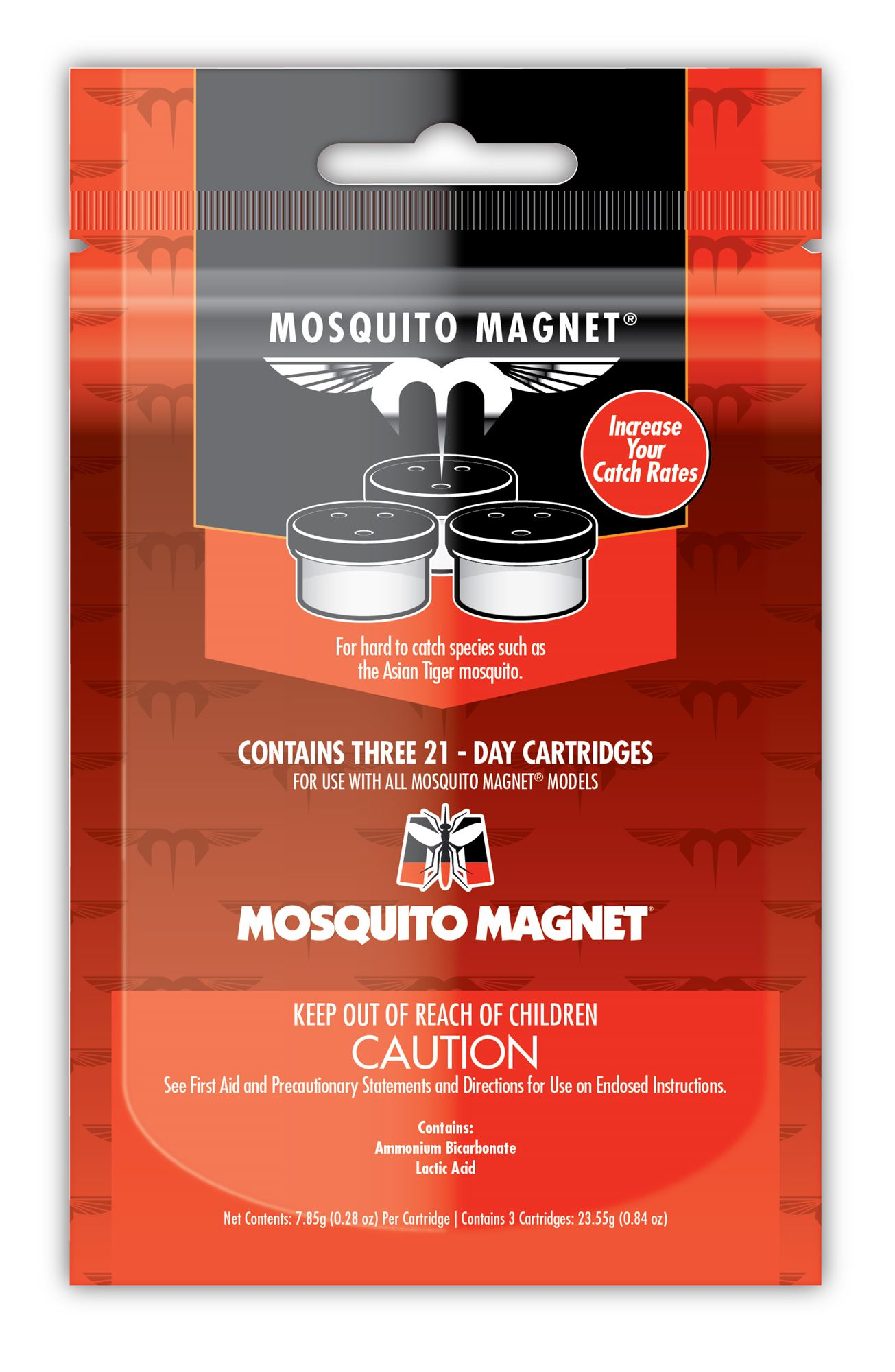 Lurex 3 Recharge Anti Moustique Exterieur Mosquito Magnet