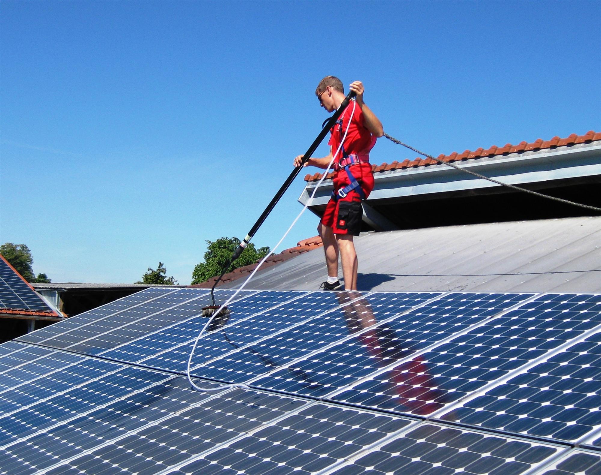kit entretien panneau solaire professionnel unger nlite hiflo 13 5 m. Black Bedroom Furniture Sets. Home Design Ideas