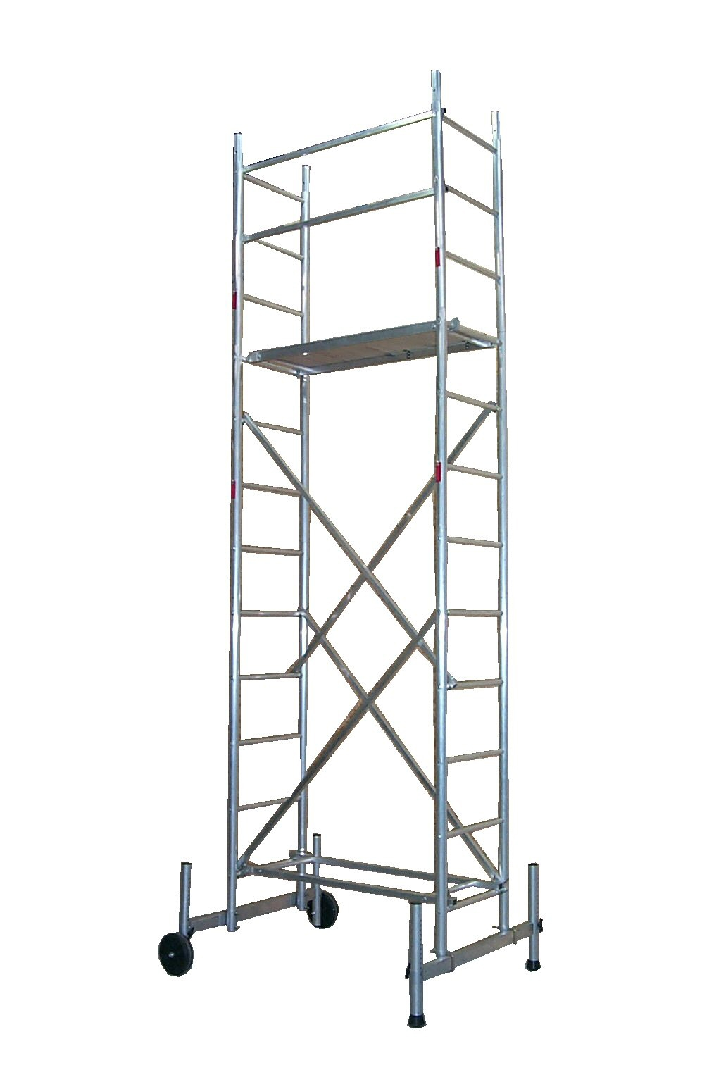 echafaudage roulant aluminium hauteur travail 5 m. Black Bedroom Furniture Sets. Home Design Ideas