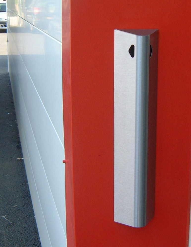 Cendrier exterieur inox brc vertical 2l for Exterieur 2000