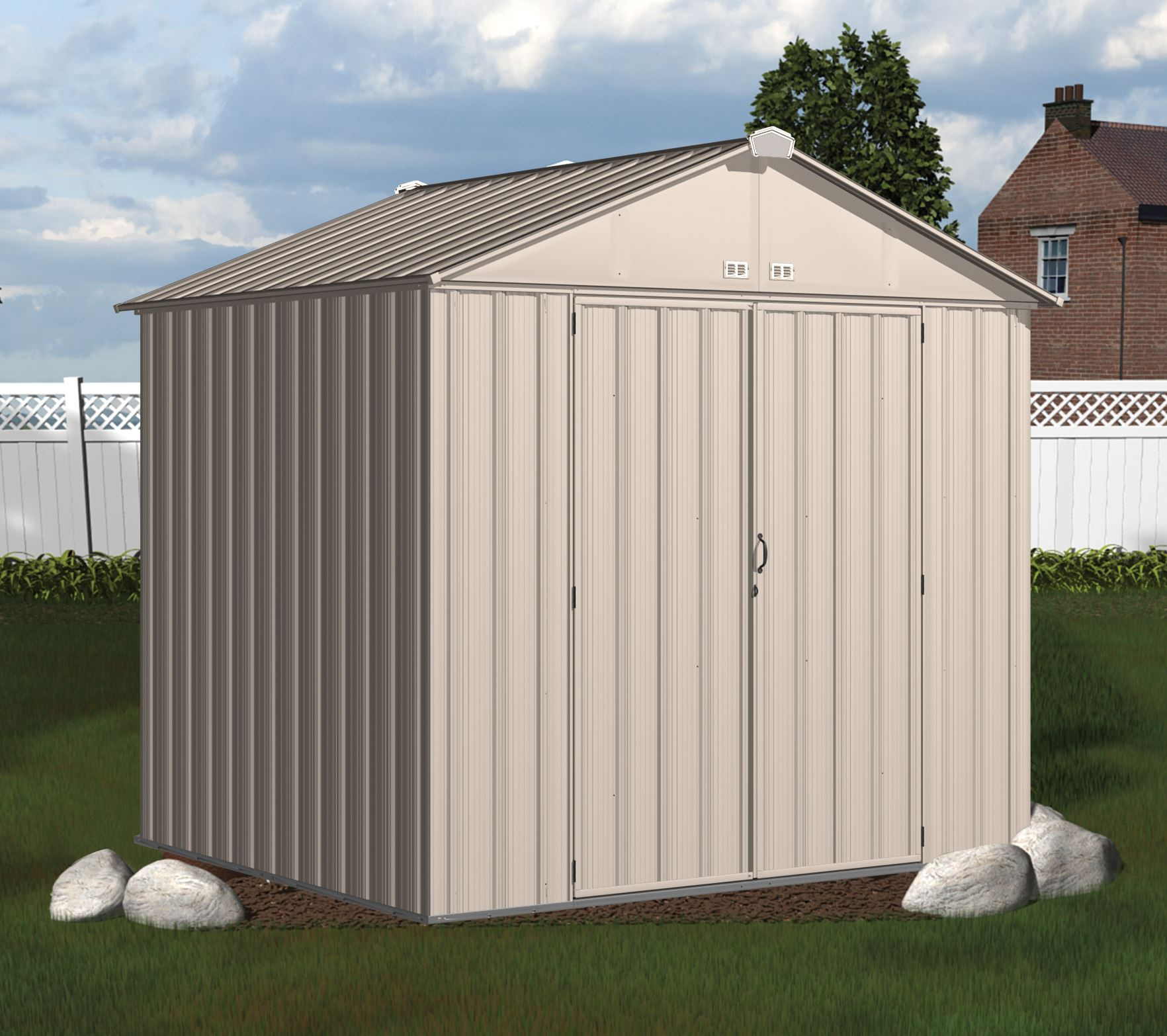 Abri de jardin arrow ezee shed ez87 cr me - Abri de jardin arrow ...