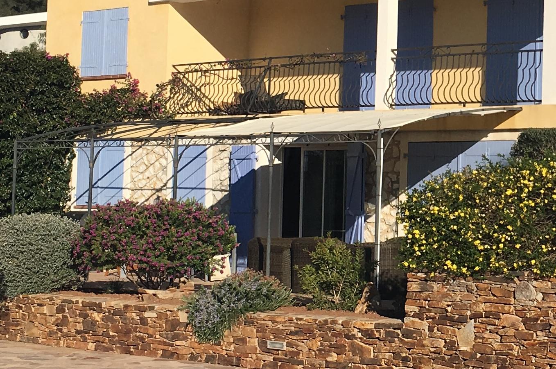 Tonnelle de jardin Azur Capri adossée forgé 4 x 3 m galvanisé