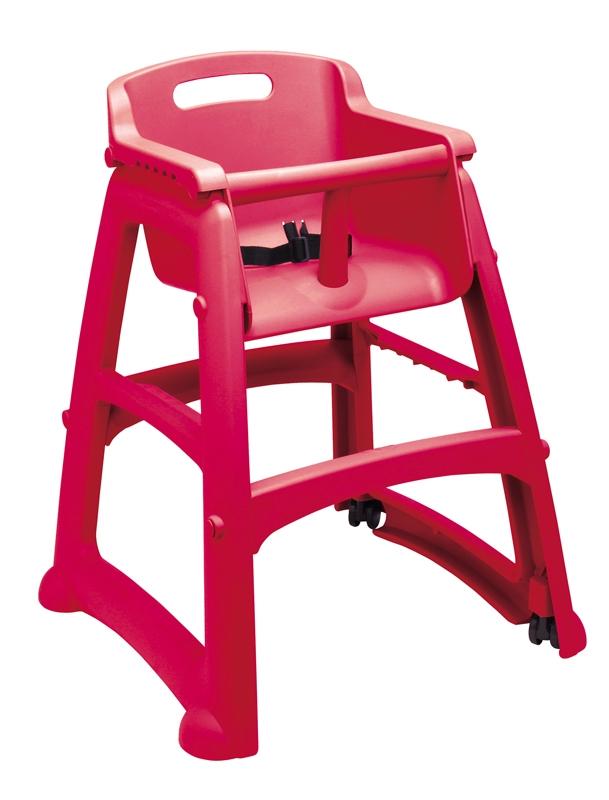 chaise pour enfant rubbermaid sturdy chair rouge. Black Bedroom Furniture Sets. Home Design Ideas