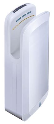 Seche main air pulse blanc filtration hepa
