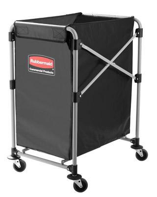 Chariot linge hotel Rubbermaid X Cart 150 L