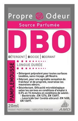 Propre odeur nettoyant surodorant DBO pamplemousse 250 doses